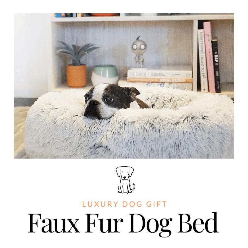 Faux Fur Dog Bed reviews