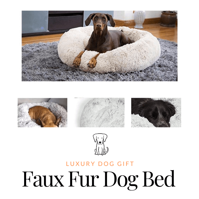 Faux Fur Dog Bed review