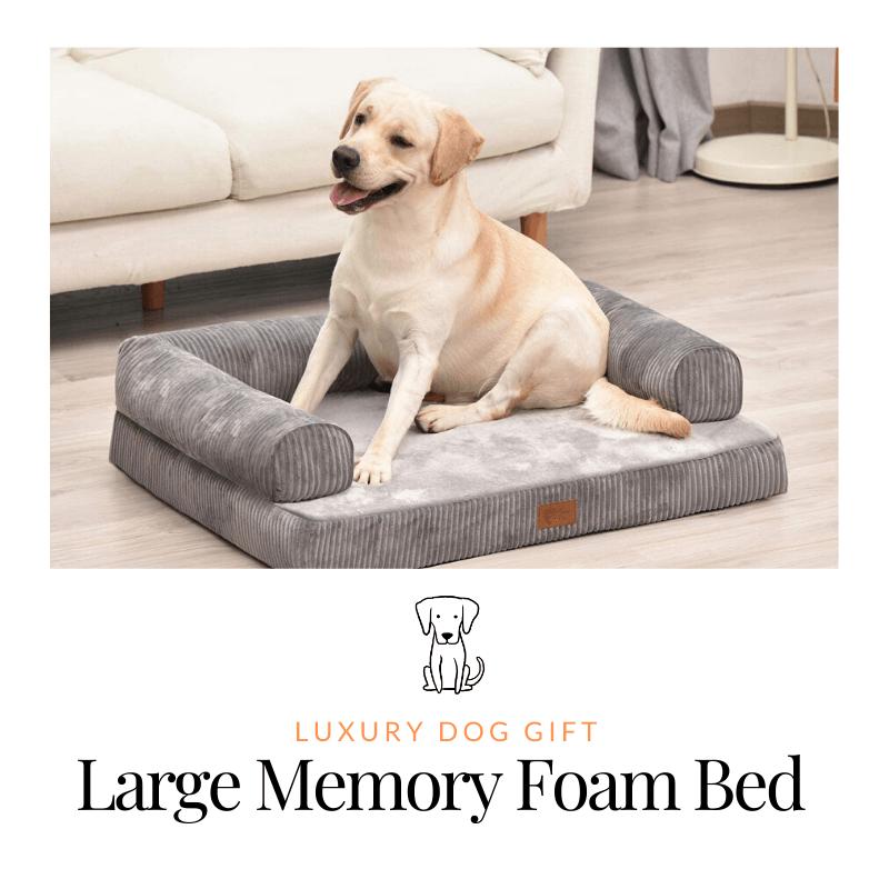 Memory Foam Large Dog Bed