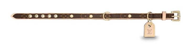 Louis Vuitton Dog Collar
