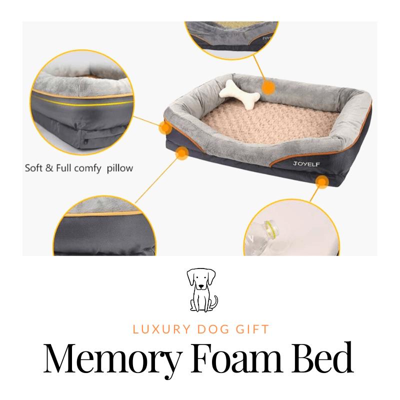JOYELF Memory Foam Dog Bed review