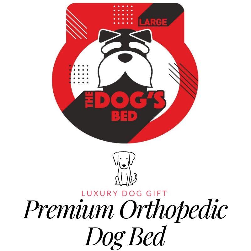 Premium orthopedic dog bed
